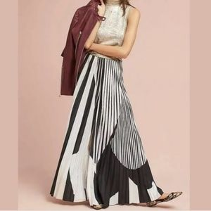 New Anthropologie Geisha Designs Wide Pleated pant